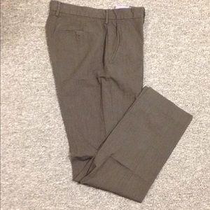 J. Crew flat front men's dress pants- 30/32